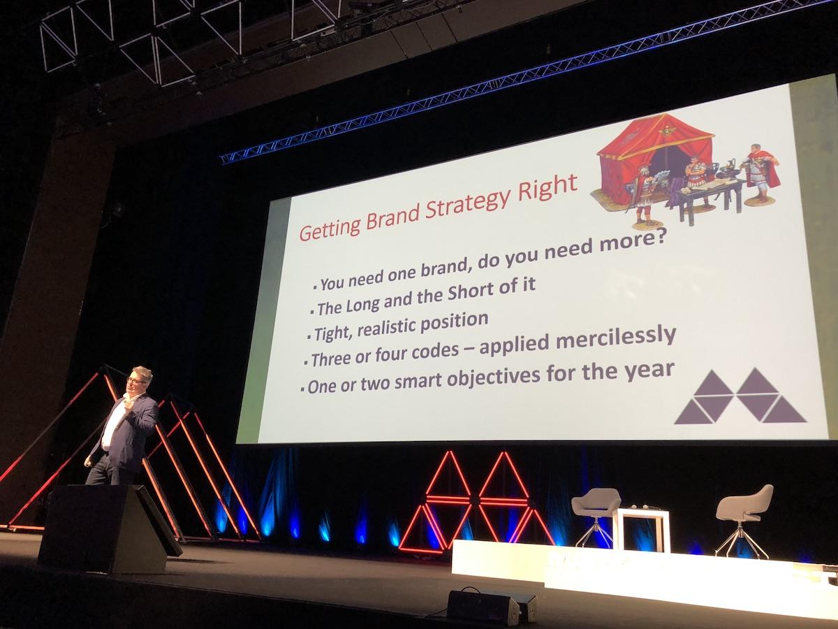 Pět odpovědí Marka Ritsona ohledně strategie značky