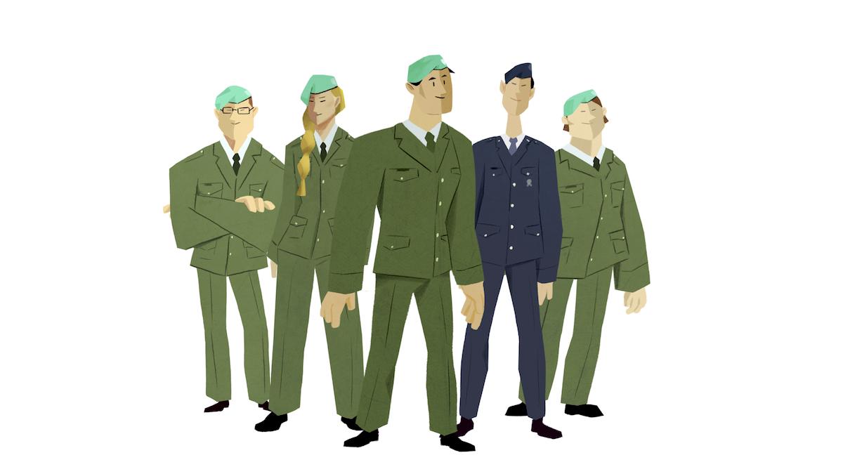 Z kampaně Univerzity obrany
