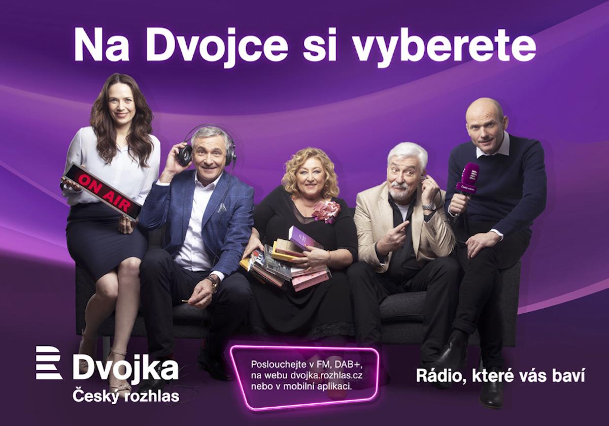 Tvářemi kampaně Dvojky jsou Tereza Kostková, Halina Pawlowská, Jan Rosák, Dalibor Gondík a Jan Čenský