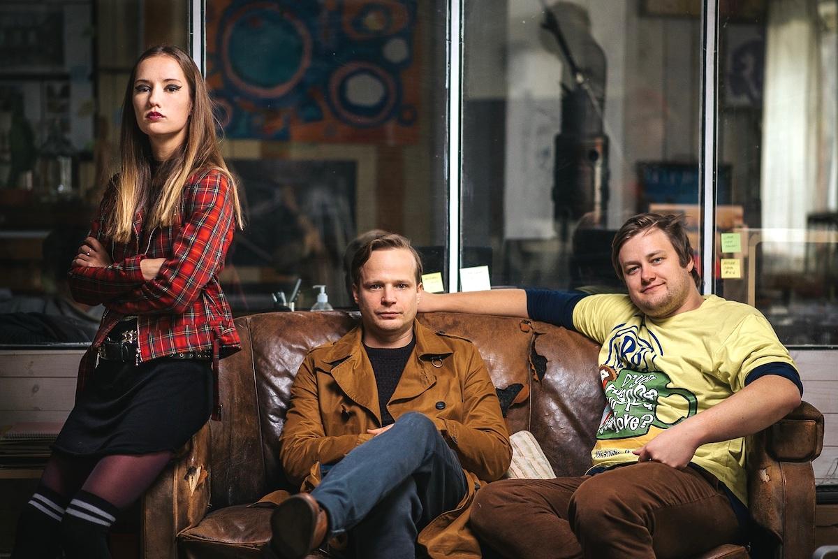 Eliška Křenková, Kryštof Hádek a Jan Strejcovský. Foto: Mall.tv