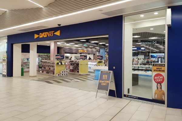 Datart inovoval prodejnu vCentro Zlín, brzy otevře v Brně