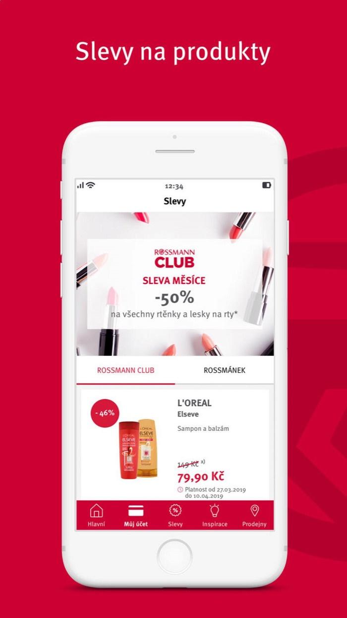 Zákazníci mohou v aplikaci najít všechny slevové kupony a akce