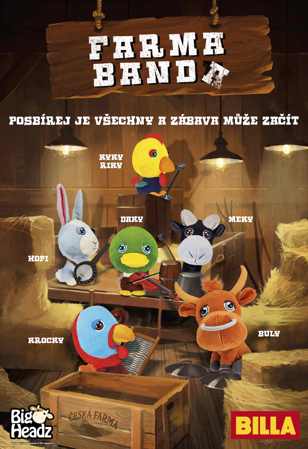 Billa: Farma Banda (McCann Prague)