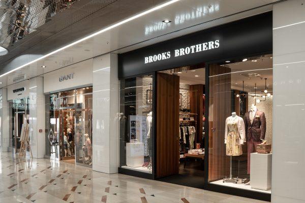 Myslbek přidal prodejnu oděvů Brooks Brothers, jedinou v Česku