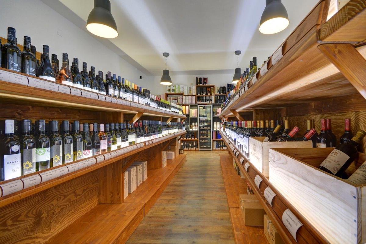 Nová prodejna Global Wines & Spirit na Náměstí Míru v Praze