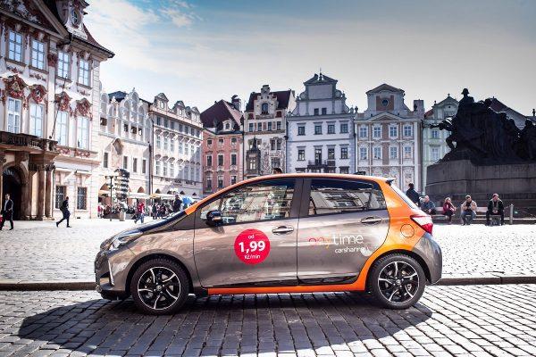 Do Prahy přichází další půjčovna aut, italský Anytime