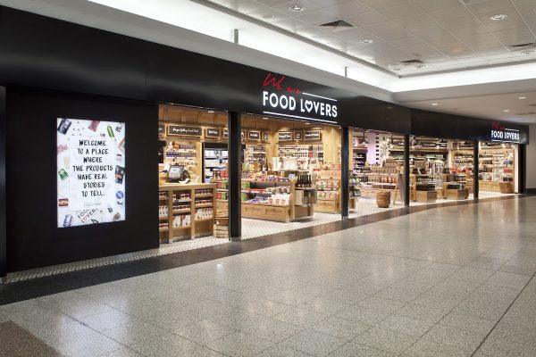 Pražské letiště přidalo dva obchody We are Food Lovers
