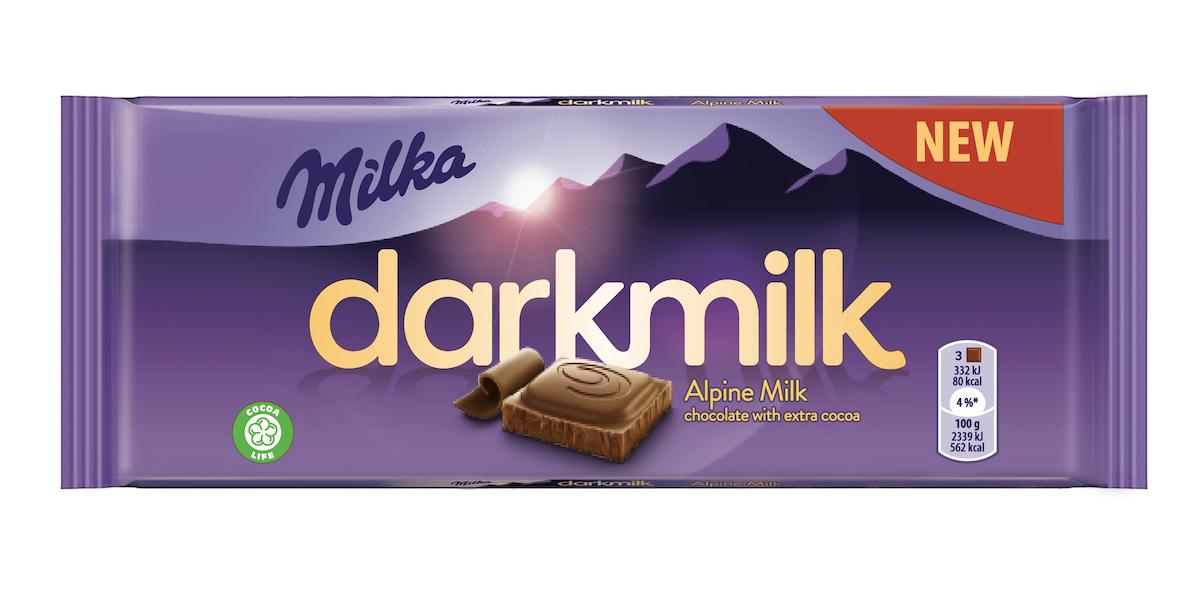 Milka Darkmilk klasická mléčná