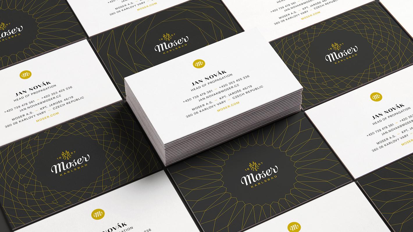 Nová vizuální identita značky Moser od Dynamo Design