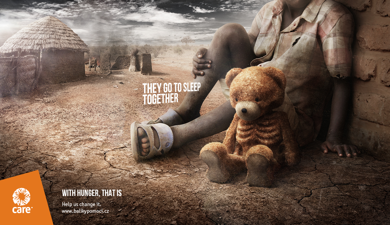 CARE: Skinny Toys / Teddy Bear (McCann Prague)