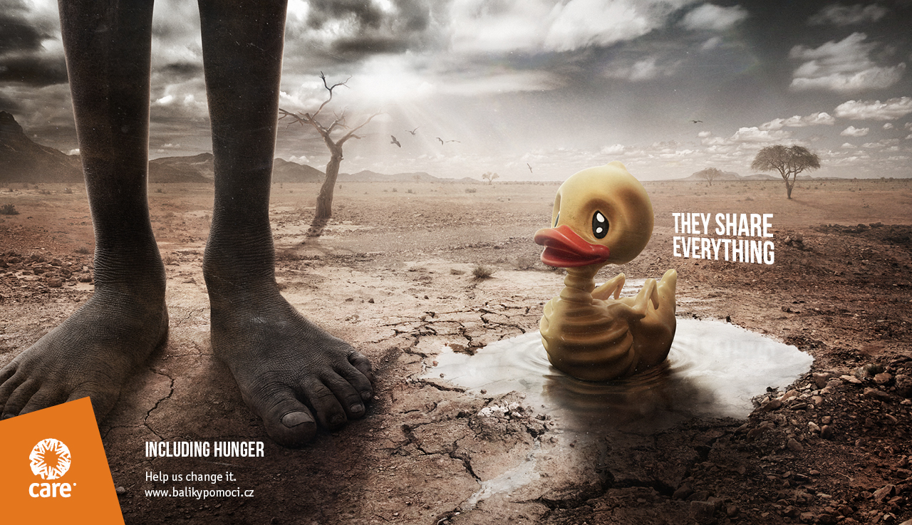 CARE: Skinny Toys / Yellow Duck (McCann Prague)