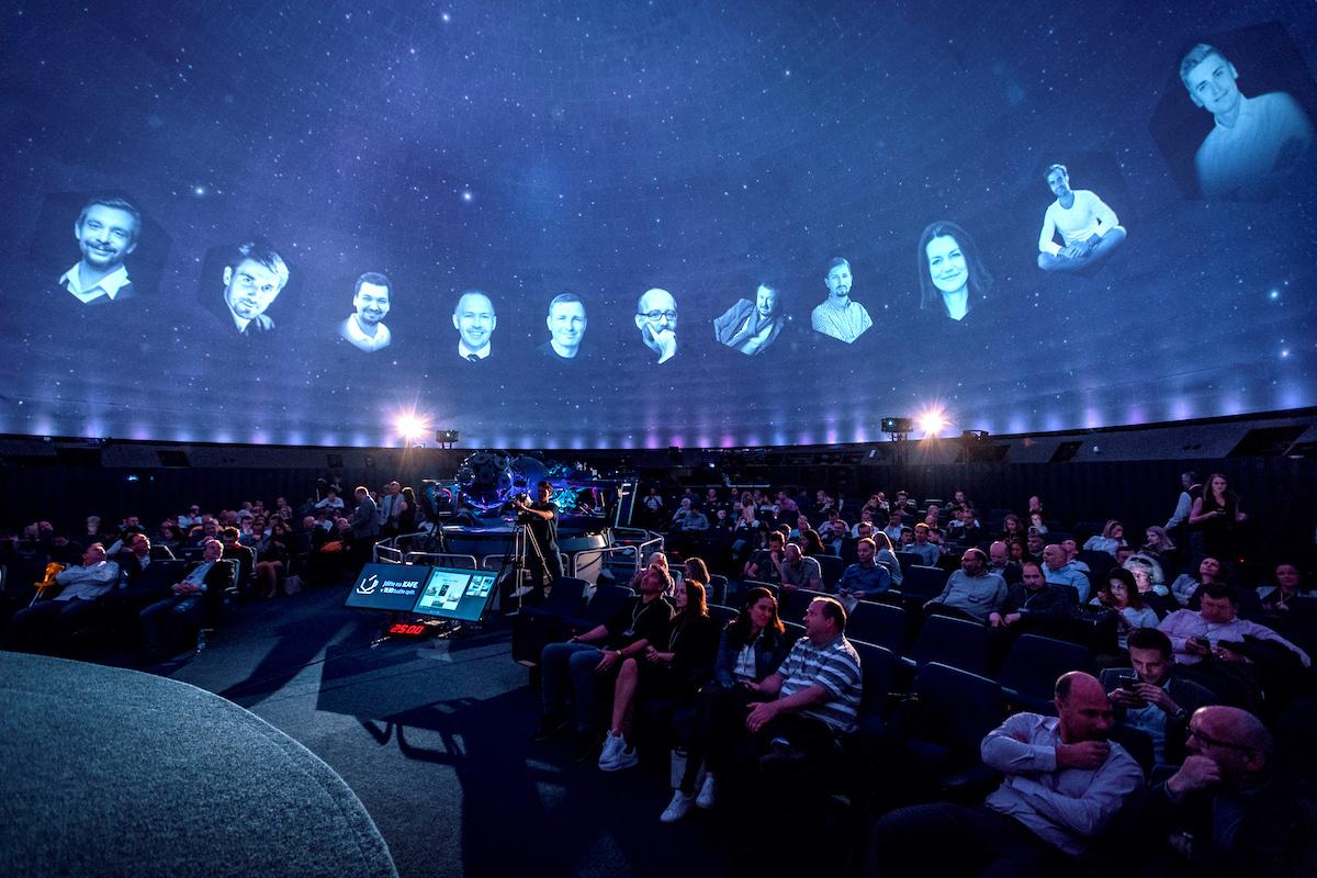 Letošní konference Logio Úl proběhla v pražském planetáriu
