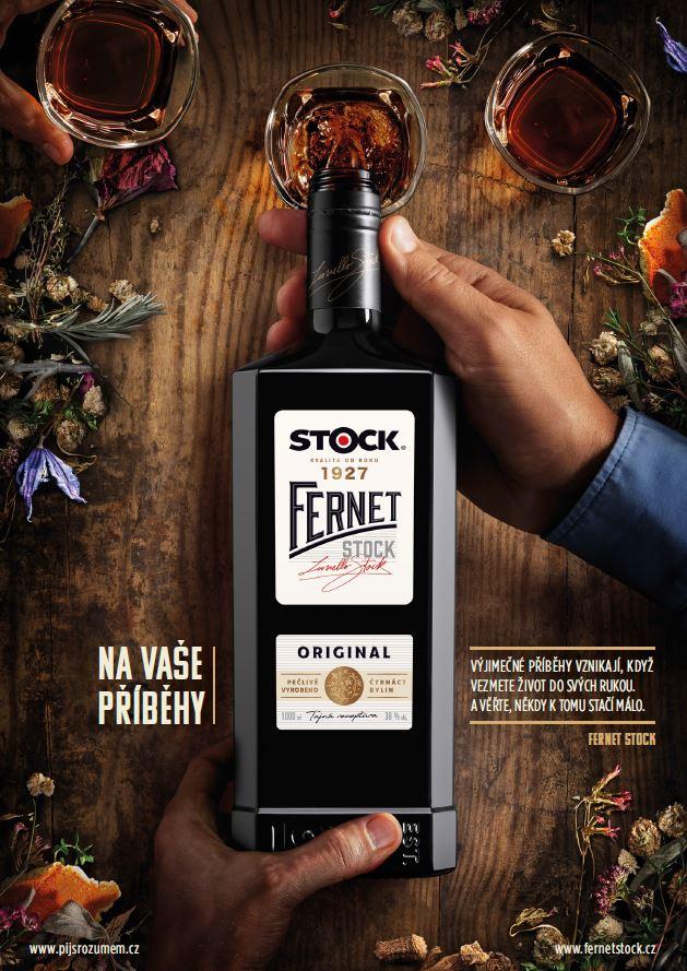 Fernet Stock: Na vaše příběhy (Scholz & Friends)
