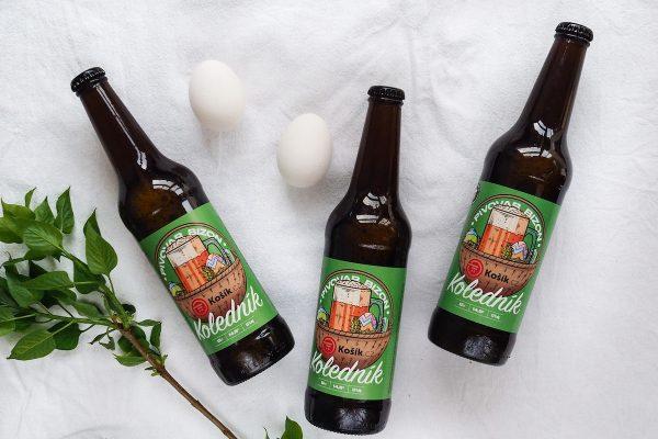 Košík.cz uvádí svou první privátní značku, pivo Koledník