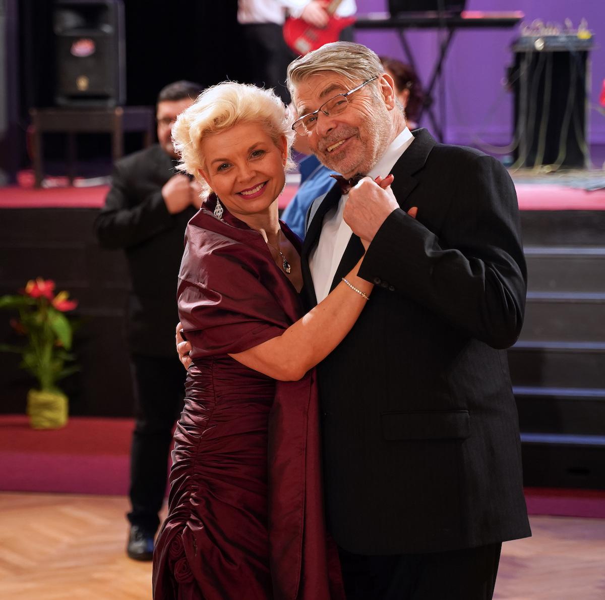 Daniela Kovářová a Radim Uzel