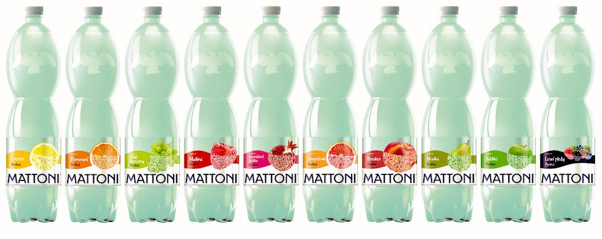 Všechny PET lahve Mattoni budou mít od léta stejnou barvu