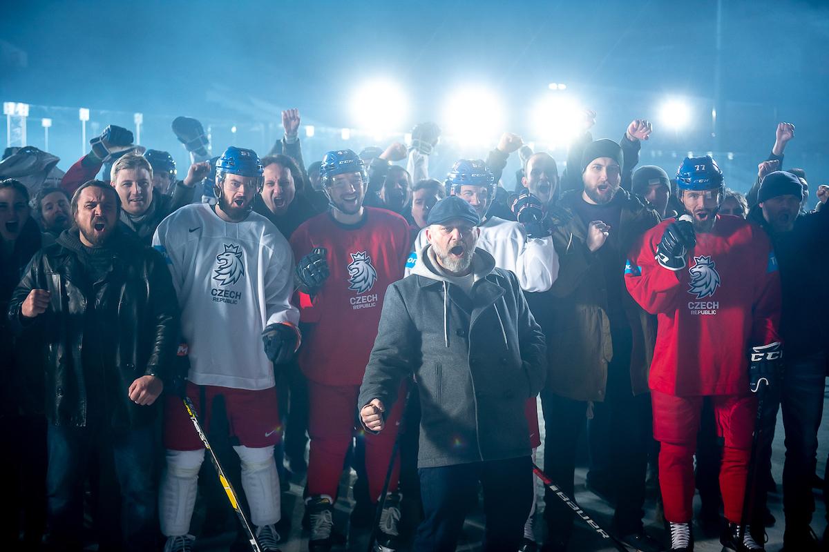 Hynek Čermák v hokejové kampani Tipsportu