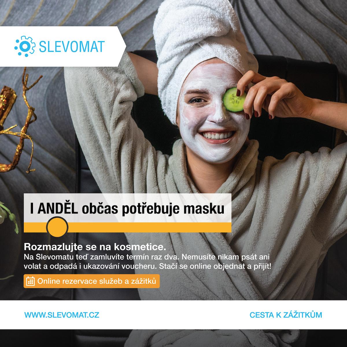 Kampaň Slevomatu v pražském metru