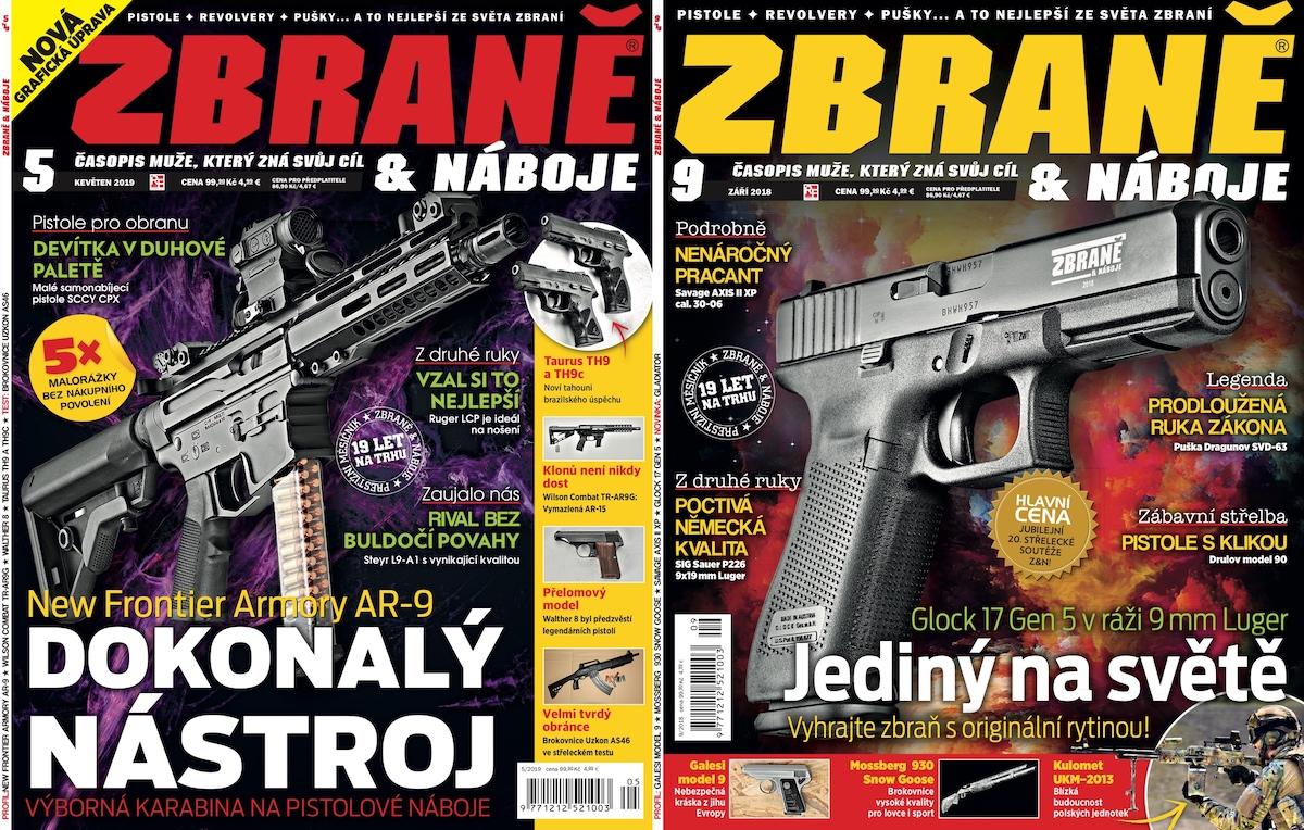 Větších změn doznal časopis uvnitř, titulní strana se příliš neměnila - vlevo nová, vpravo dosavadní podoba