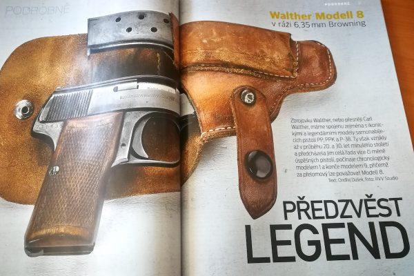 Časopis Zbraně & náboje vychází v novém designu