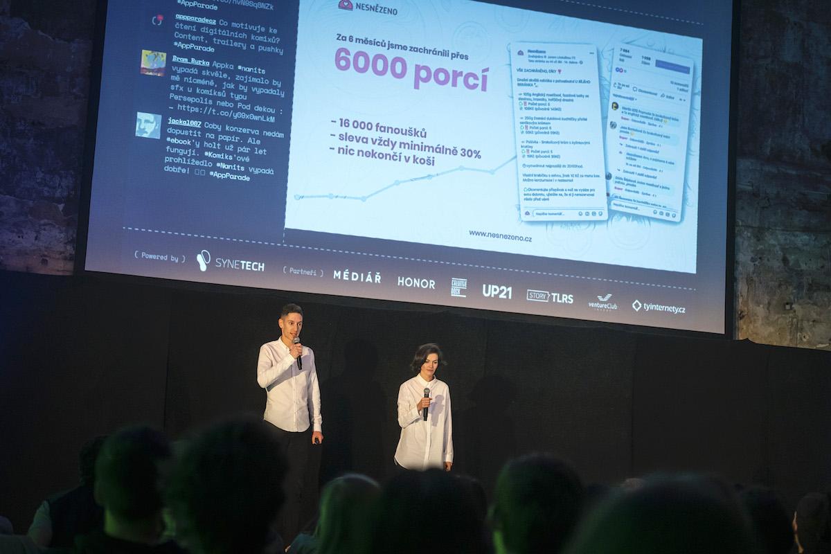 Jakub Henni a Michaela Gregorová prezentují Nesnězeno. Foto: Lukáš Wagneter, Red Bull Media House