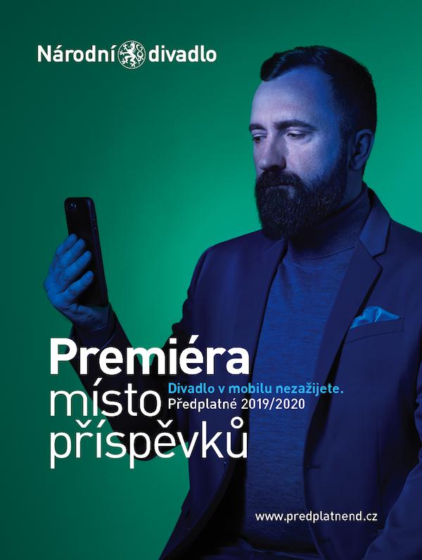 Národní divadlo: Divadlo v mobilu nezažijete (Touch Branding)