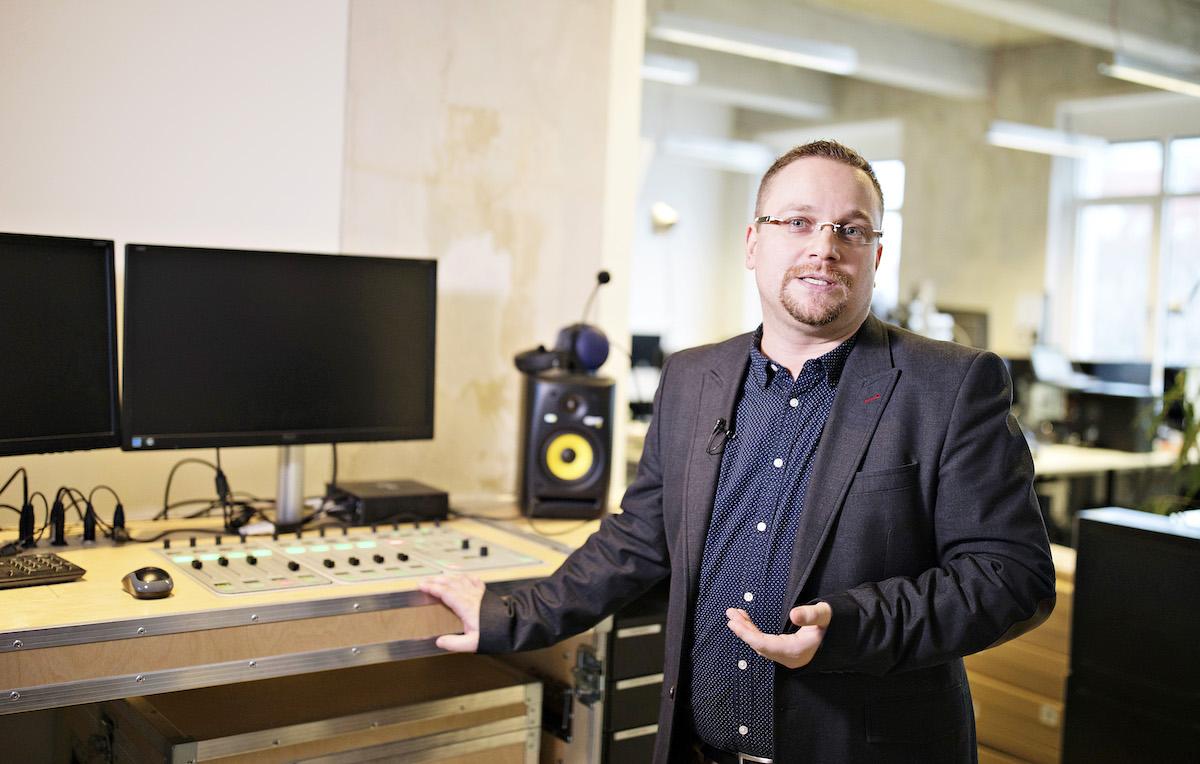 Tomáš Vyšohlíd, šéfredaktor instore Rádia Penny
