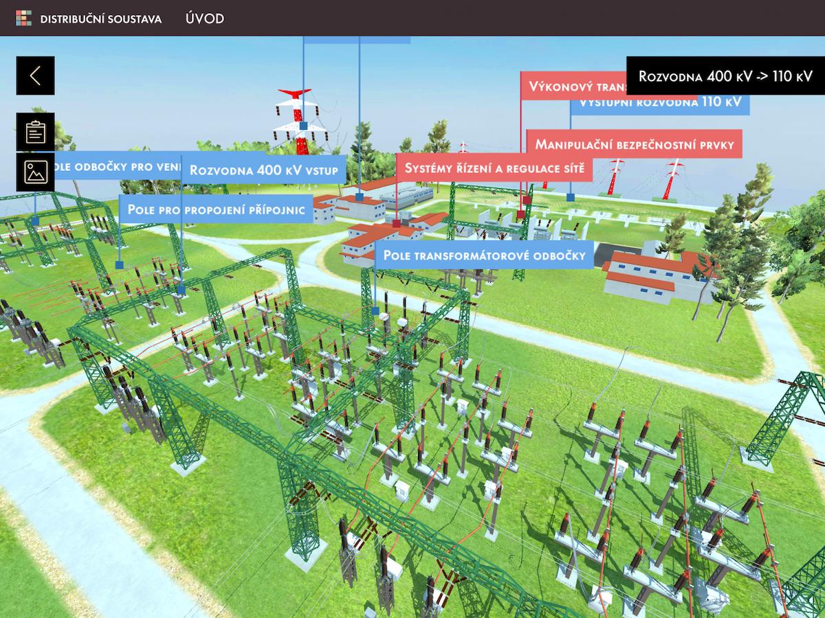 Apka zobrazuje interaktivní 3D modely, na kterých vysvětluje funkce sítě, i vzdělávací hry