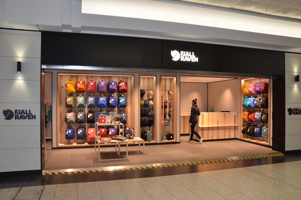 Nový obchod značky Fjällräven na pražském letišti