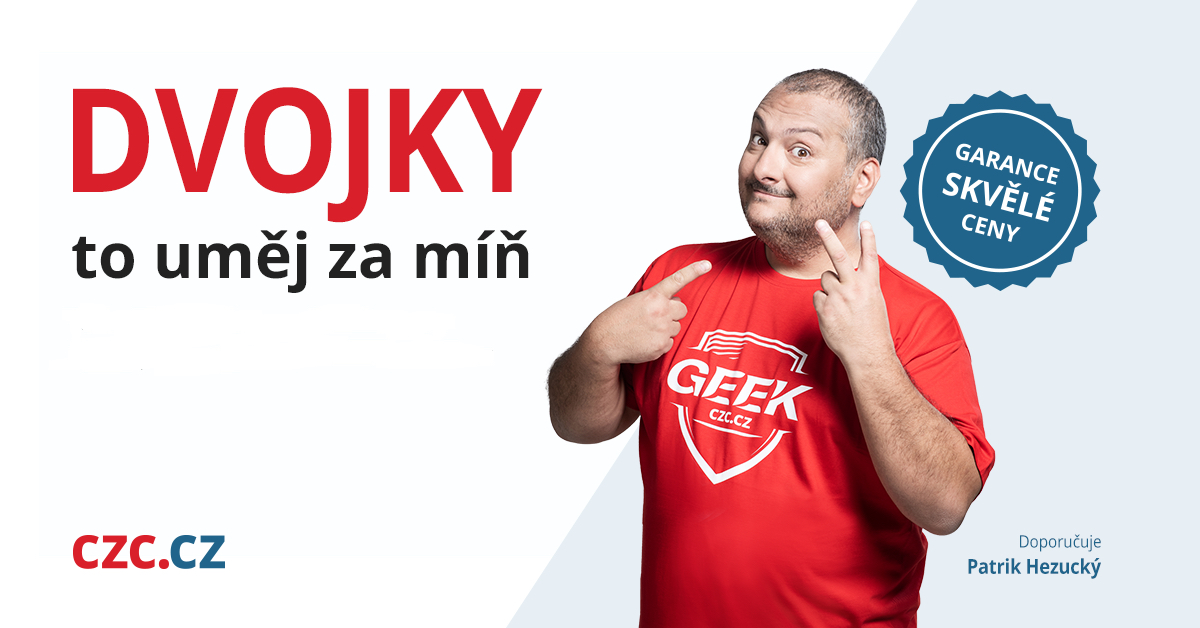 Patrik Hezucký v kampani CZC.cz