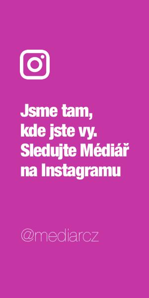Sledujte Médiář na Instagramu
