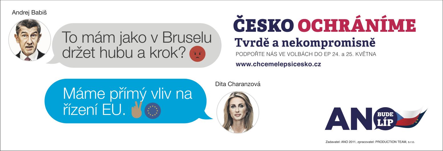Česko ochráníme: Brusel