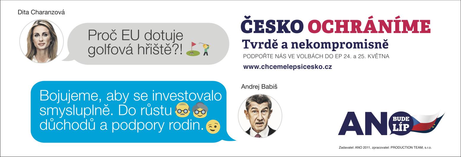 Česko ochráníme: Golf