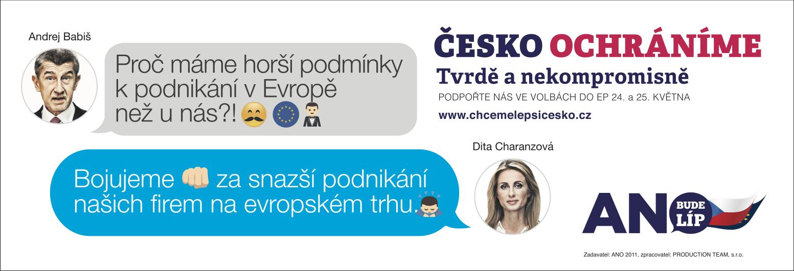 Česko ochráníme: Podnikání