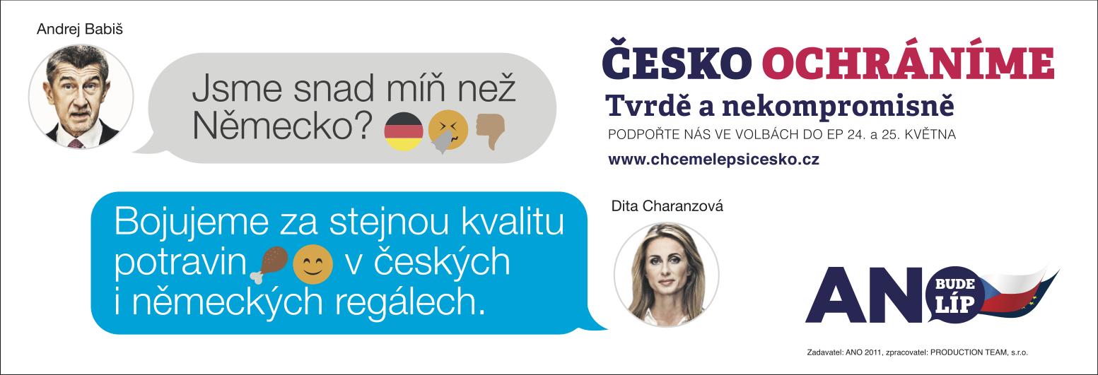 Česko ochráníme: Potraviny