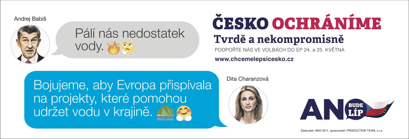 Česko ochráníme: Voda