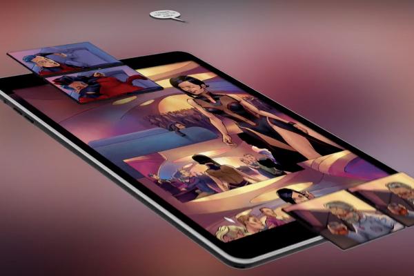 Nanits přidává ke komiksům zvukovou stopu a zobrazení ve 3D