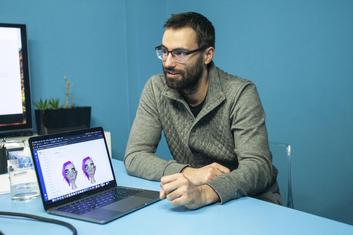 Vedoucí vývojář MocapX a partner studia Qubix Ondřej Přidal