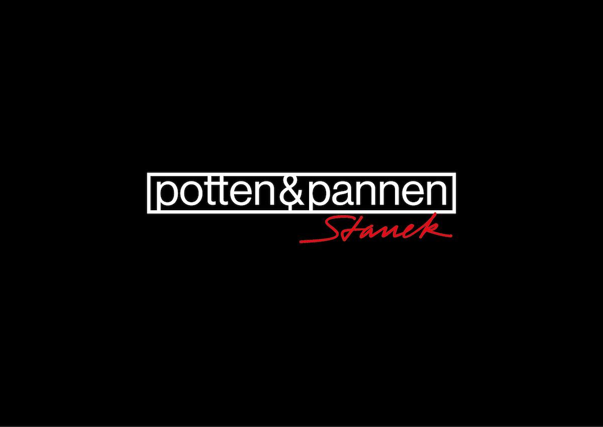 Nové logo Potten & Pannen - Staněk