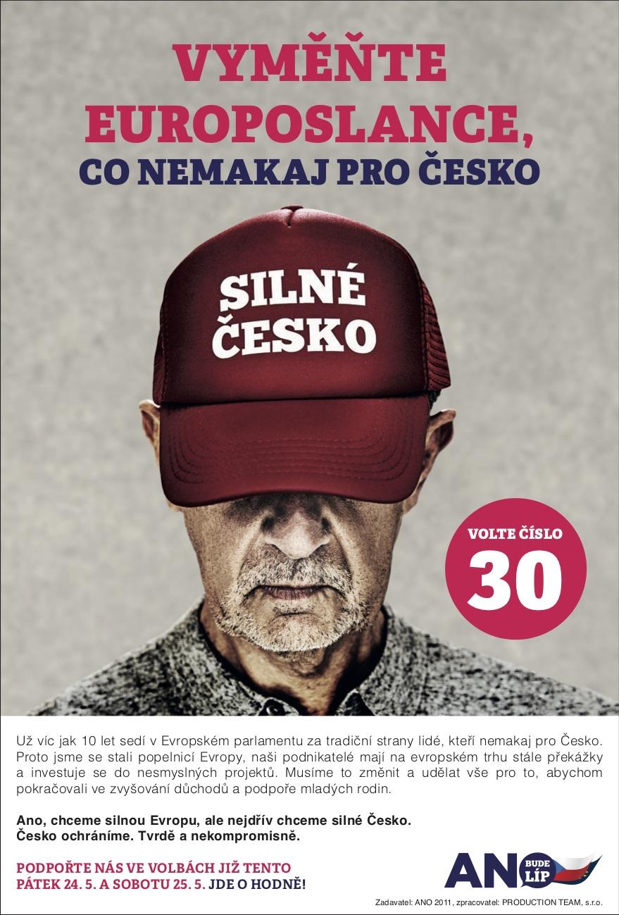 Česko ochráníme: Vyměňte europoslance, co nemakaj pro Česko