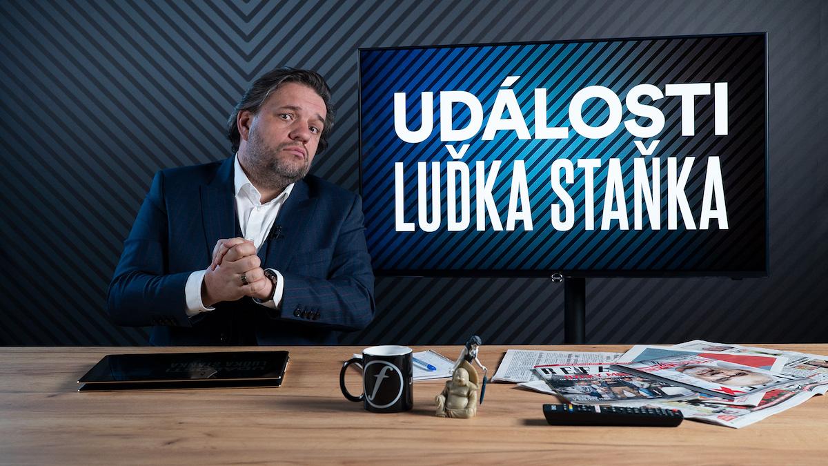 Novou vizuální podobu Událostí Luďka Staňka vytvořil Lukáš Veverka. Foto: Mall.tv