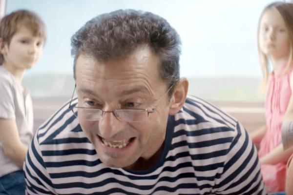 Ondřej Vetchý v reklamě Českých drah