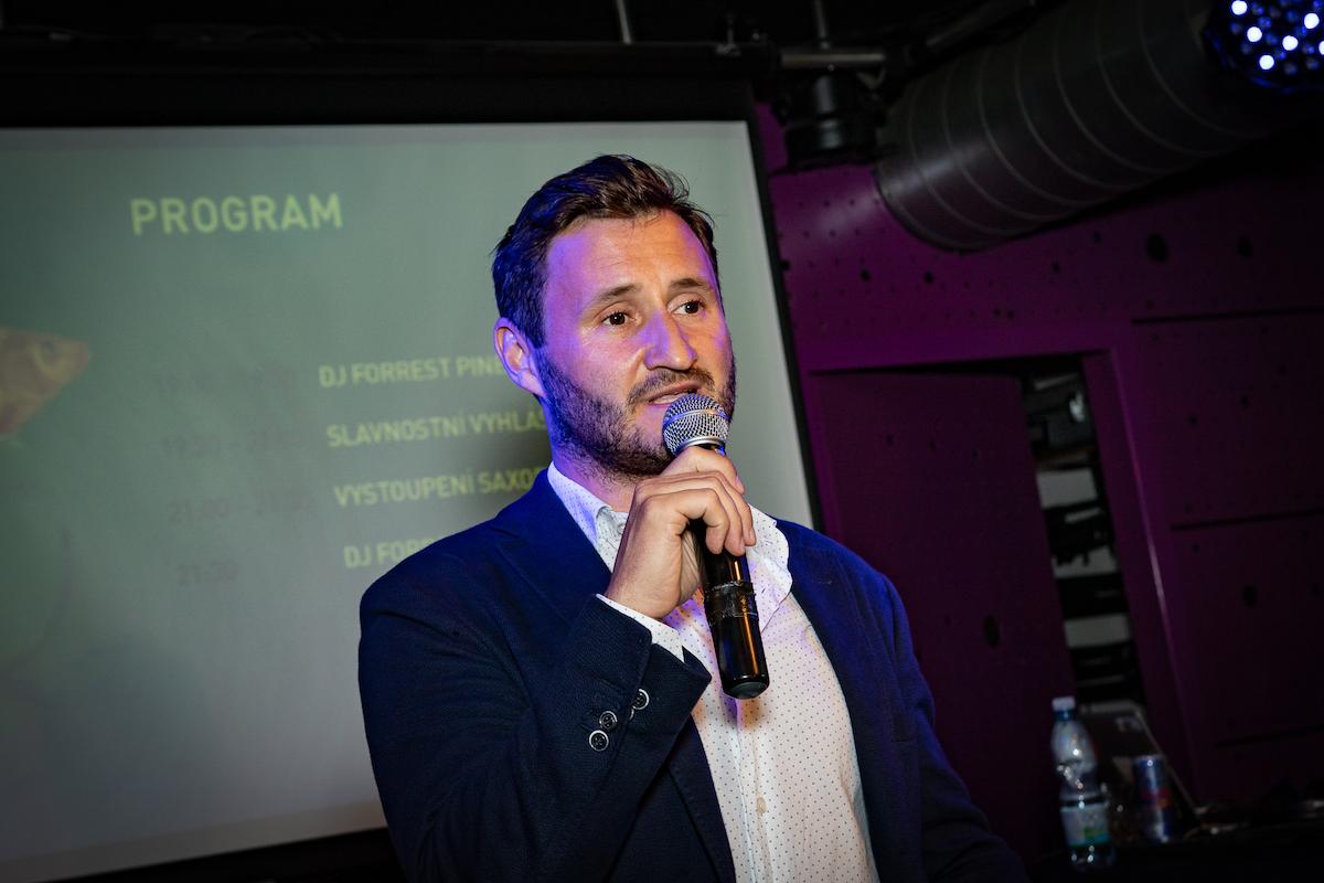 Ředitel soutěže Martin Pešta z Geometry. Foto: Tomáš Kříž