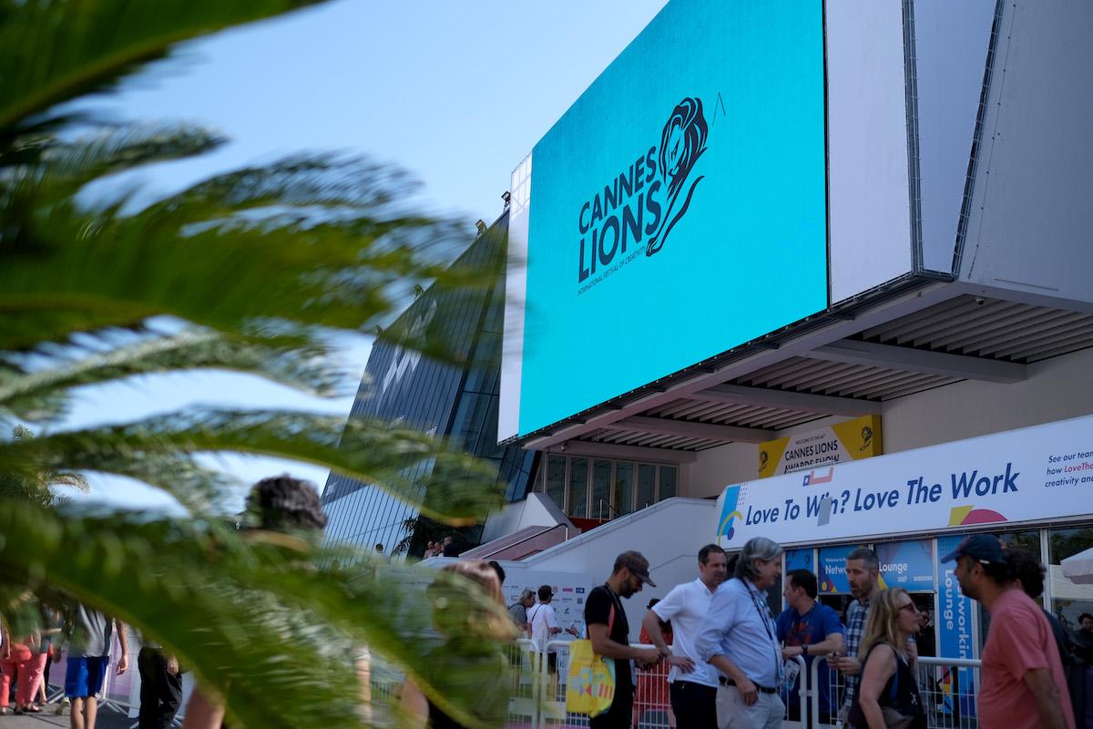 Reklamní festival probíhá v canneském Palais. Foto: Cannes Lions