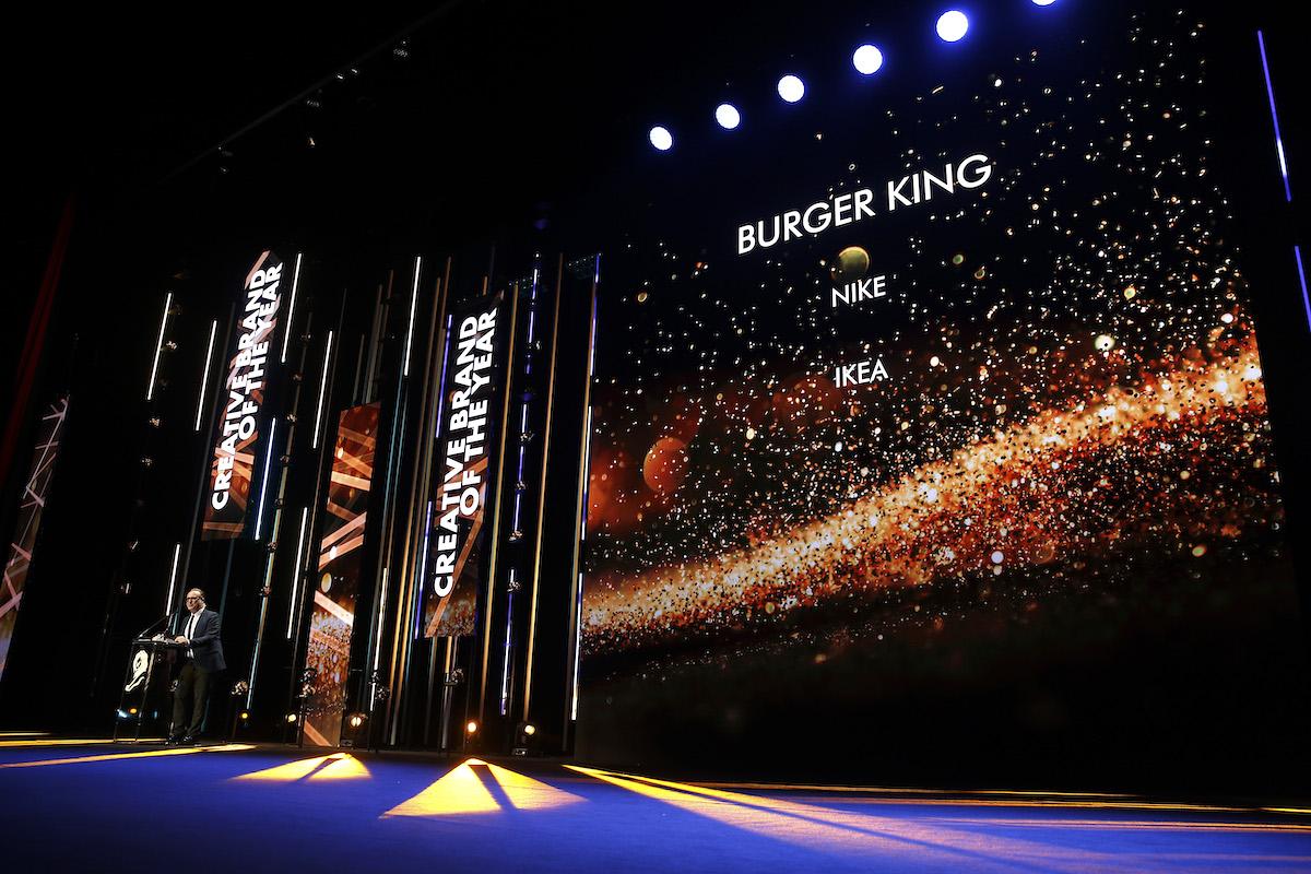 Burger King se letos stal kreativní značkou roku. Foto: Richard Bord (Getty Images) pro Cannes Lions