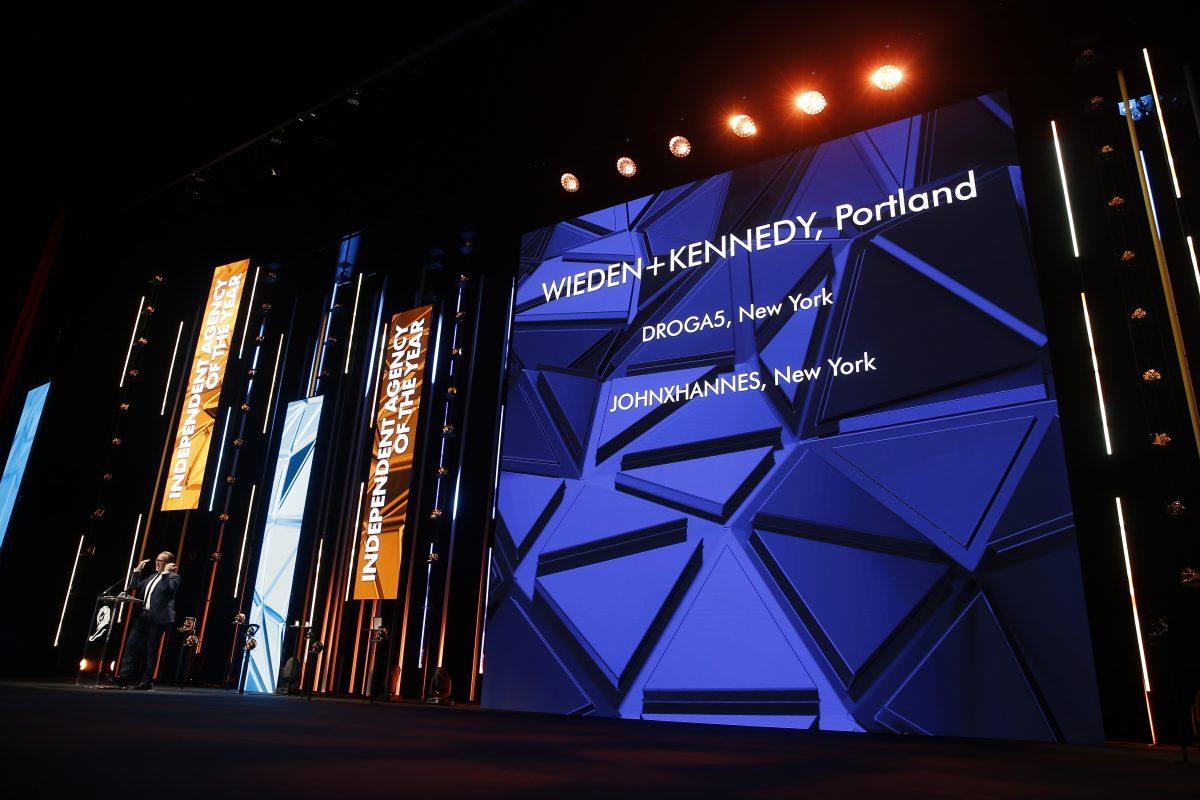 Nezávislou agenturou roku je americká Wieden+Kennedy. Foto: Richard Bord (Getty Images) pro Cannes Lions