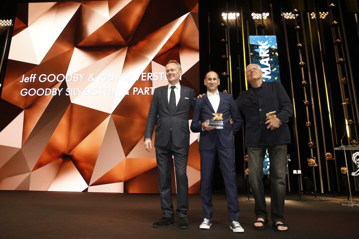 Jeff Goodby a Rich Silverstein získali ocenění za přínos oboru. Foto: Richard Bord (Getty Images) pro Cannes Lions