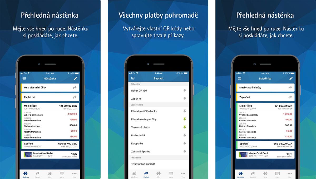 Nová aplikace nabízí funkci Zaplať mi nebo snazší správu platebních karet