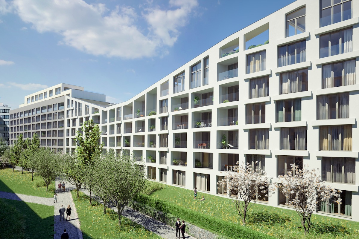 Sherry Europe vyvinulo aplikaci pro nový rezidenční objekt Port Karolina