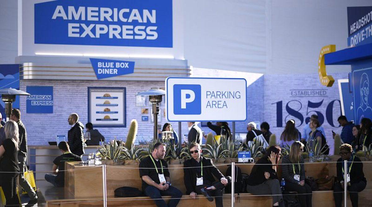 Zážitková zóna American Expressu na veletrhu CES 2019